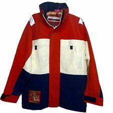 New listing Vintage 1980s Regatta Jacket Mens Small S Windbreaker Outerwear Red Deadstock