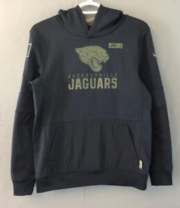 Nike on Field Jacksonville Jaguars dri fit large youth NFL HOODIE black Camo