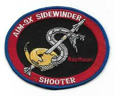 Usn Aim-9X Sidewinder Shooter patch Air to Air Missile