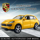 1:38 Porsche Cayenne Turbo Die Cast Model Car Kid Pull Back Vehicle Toy