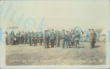 More details for edwardian brecknockshire battalion b company arms inspection 1909