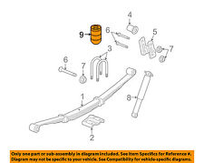 Hummer GM OEM 06-10 H3 Rear Suspension-Auxiliary Spring 15295277