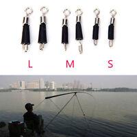50X rodamiento de bolas giratoria anillos sólidos conector de pesca enlaceráp*ws