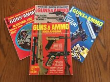 Guns & Ammo Magazine 1969 Annual Buyers Guide Plus 3 Issues Hunt Shoot Collect