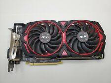 MSI Graphics Card Radeon RX 570 ARMOR MK2 8G OC AMD