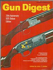 Gun Digest 29th Edition John T. Amber 1975