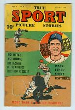 True Sport Picture Stories Vol 4 #9 September 1948 VG