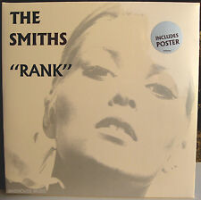 MORRISSEY LP x 2 SMITHS Rank Remastered SEALED + POSTER 180 Gram Vinyl 2012