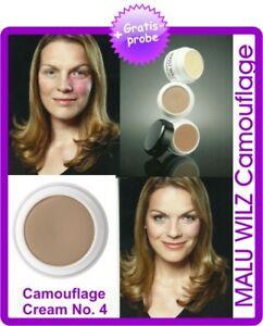 """Malu Wilz """"Camouflage""""- Cream 6gr Farbnr.04 & Spatel & Schwamm & 2 GRATIS PROBEN"""