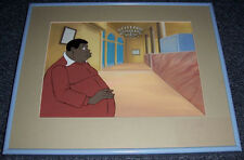FAT ALBERT MATTED & FRAMED PRODUCTION CEL ~ BILL COSBY