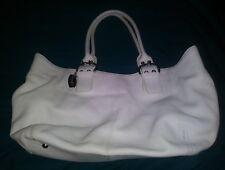 NWT Tignanello White Leather Purse a1