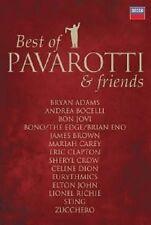 BEST OF PAVAROTTI & FRIENDS THE DUETS DVD NEU