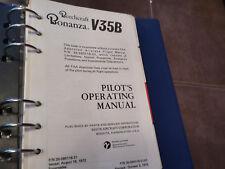 Beechcraft Bonanza V35B Pilot's Operating Handbook Manual