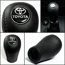 Toyota Leather Gear Stick Shift Knob AYGO VERSO COROLLA RAV4 AVENSIS YARIS/VITZ