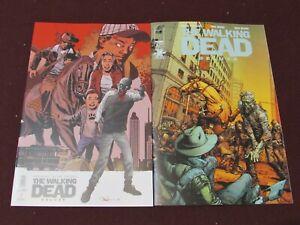 Walking Dead Deluxe #2 Lot of 2 (Standard & Adlard Variant)