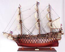 Schiffsmodell HMS VICTORY, 80 cm Handarbeit Holz, fertig montiert