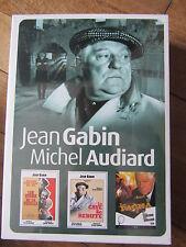 Coffret Jean Gabin, Michel Audiard, 3DVD, Policier, NEUF!!