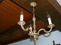 Bronze Lampe zierliche Deckenlampe Bronze