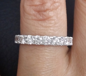 Steal DEAL!1.00CT Natural Diamond Ladies Engagement Wedding Band Ring 14K Gold