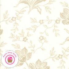 Moda ALL HALLOW'S EVE 20350 26 Ivory Cream Floral FIG TREE Fabric HALLOWEEN