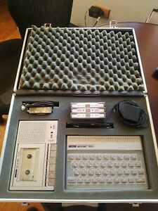 Timex Sinclair 1500 2020 Technical Literature Series Computer Set With case NICE