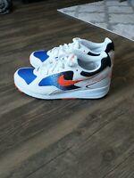 Nike Air Skylon 2 White Orange Retro Lifestyle Running Shoes Men's 10 AO1551-108