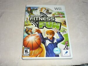 FAMILY PARTY FITNESS FUN  (NINTENDO WII, 2010) NTSC COMPLETE    -GC-
