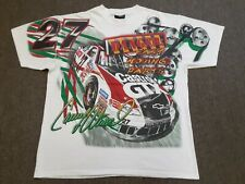 VTG #27 Casey Atwood Nascar Racing All Over Print Double Sided T Shirt Large L