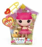 "Lalaloopsy Littles Twisty Tumblelina Doll w/ Pet Duck 7"" - NIB"