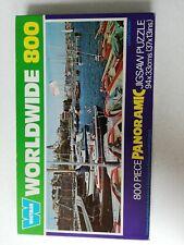 Vintage Whitman Worldwide 800 Piece Panoramic Jigsaw Puzzle . Lysekil, Sweden.