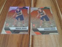 2016-17 PANINI PRIZM Dragan Bender RC ( lot of 2 ) card no. 242