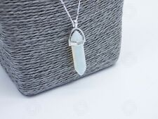 Natural Opalite Amulet Healing Charm Pendant Chakra Reiki Necklace Love Gift UK