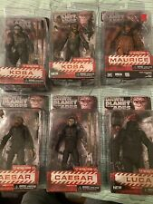 Neca Dawn of the planet of the apes lot: Caesar, Maurice, Koba, Luca— 6 Figs
