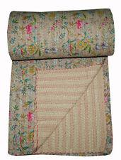 Kantha Quilt Queen Kantha Bedsheet Kantha Bedcover Kantha Bedspread Kantha Throw