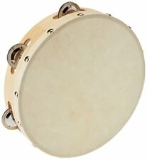 5X Hand Tamburin Drum Glocke Metall Jingles Percussion Musikalisches Spielzeug M