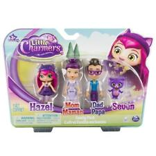 LITTLE CHARMERS FAMILY PACK FIGURES HAZEL MUM DAD & SEVEN DOLL TOYS