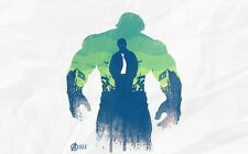 "077 Age of Ultron - Iron Man Captain America Hulk Movie 22""x14"" Poster"