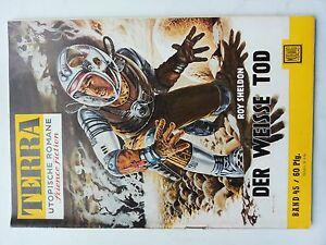RAR Terra Science Fiction Roman Nr. 45 Roy Sheldon Der Weiße Tod