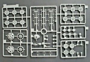 Dragon 1/35th Scale StuG.III Ausf.G Early Parts Tree A from Kit No. 6320