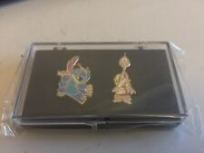 Disney Lilo & Stitch TV 2 pin set Stitch & Pleakley New