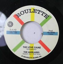 50'S & 60'S 45 The Mudlarks - The Love Game / My Grandfather'S Clock On Roulette