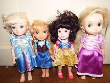 Bundle Disney Principessa Bambino doll figure toy playset Animator il mio primo rapunze