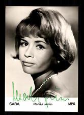 Monika Grimm Autogrammkarte Original Signiert ## BC 95749