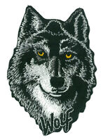 Ecusson patche Loup Wolf thermo adhésif transfert patch DIY