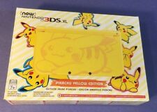 Nintendo New 3DS XL PIKACHU YELLOW Limited Edition NEW