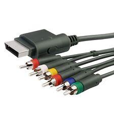 Xbox 360 TV Component Composite Audio Video AV Cable Cord for Microsoft