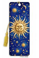 3D Bookmark Sun Stars Comet Sky Universe Space Lover Gift Him Her Kids Friend