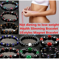 Magnetic Bracelet Weight loss Natural Beads Stone Therapy Health Care Jewelry YJ