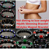 Magnetic Bracelet Weight loss Natural Beads Stone Therpy Health Care Jewelry OD