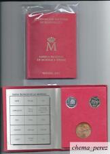 // Cartera pruebas numismaticas E-87 exposicion numismatica  F.N.M.T. \